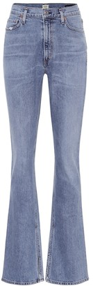 Citizens of Humanity Blue Georgia high-rise bootcut jeans