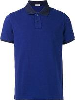 Moncler tonal short sleeve polo shirt - men - Cotton - M