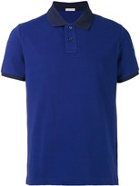 Moncler tonal short sleeve polo shirt - men - Cotton - XL