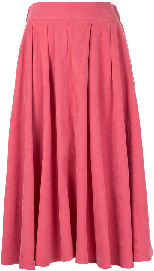 CITYSHOP high-waisted pleated skirt