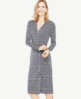 Ann Taylor Vine Wrap Dress