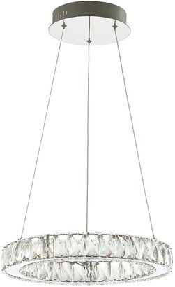 Jonathan Y Designs Reese 15.7In Adjustable Integrated Led Chandelier Pendant
