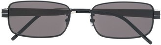Saint Laurent Eyewear Monogramme rectangular-frame sunglasses
