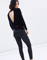 Whistles Twist Back Crew Knit