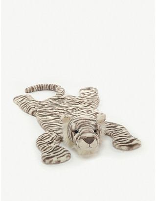 Jellycat Sacha snow tiger soft toy play-mat 85cm