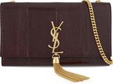 Saint Laurent Monogram medium snakeskin shoulder bag