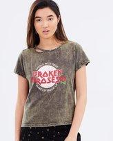 MinkPink Broken Roses T-Shirt