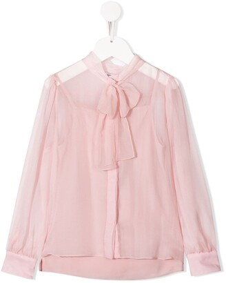 Dolce & Gabbana pussy-bow blouse