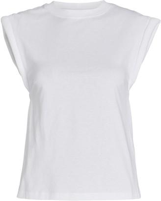 RtA Kairi Padded Shoulder T-Shirt