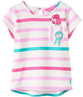 Joules Little Joule Girls' Maggie Poodle T-Shirt, Pink/Multi