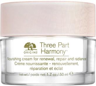 Origins Three Part Harmony Nourishing Cream for Renewal, Repair, and Radiance