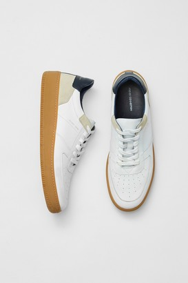 French Connenction Aaron Lace Up Leather Sneakers