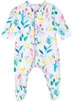 Catimini Girls Jersey Pyjamas With Oasis Print
