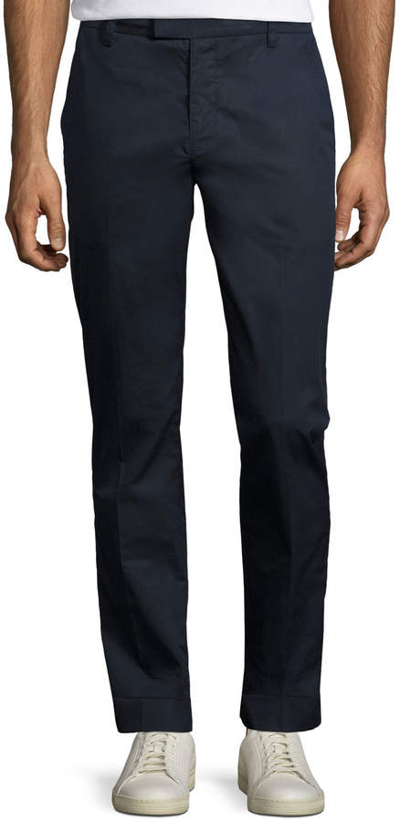 ATM Anthony Thomas Melillo Cuffed Cotton Slim-Straight Pants