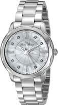 Lucien Piccard Women's LP-40000-22MOP Balarina Analog Display Quartz Silver Watch