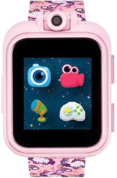 iTouch Kids PlayZoom Pink Unicorn Strap Touchscreen Smart Watch 42x52mm