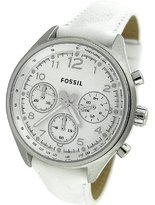 Fossil Women's Flight CH2823 Leather Quartz Watch with Dial