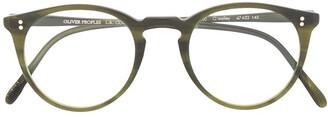 Oliver Peoples Circular Glasses