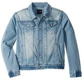 Joe's Jeans Washed Denim Jacket (Big Kids) (Light Vintage) Boy's Coat