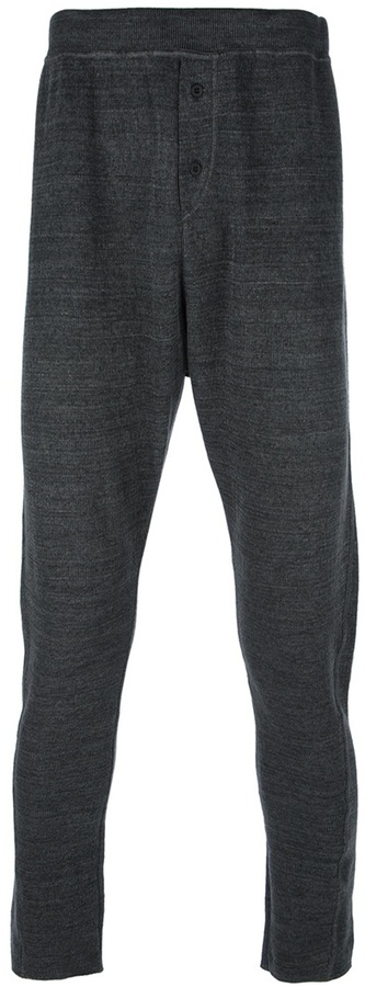Lost And Found drop-crotch trouser