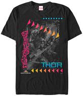 Fifth Sun Men's Tee Shirts BLACK - Thor Ragnarok Black Neon Marvel Tee - Men