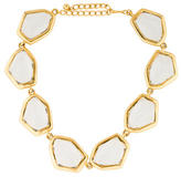 Kenneth Jay Lane Crystal Station Collar Necklace