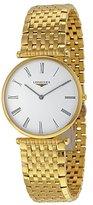 Longines Women's Gold Tone Steel Bracelet & Case Swiss Quartz Dial Analog Watch L47552118