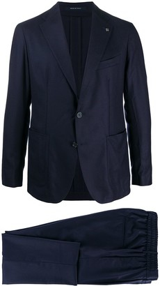 Tagliatore Drawstring Trousers Two-Piece Suit