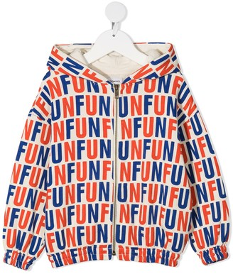 Bobo Choses Fun slogan print hoodie