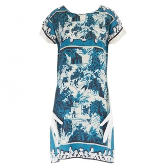 Dolce & Gabbana \N Blue Silk Dresses