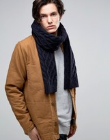 Jack Wills Scarf In Navy