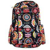 Ju-Ju-Be Be Right Back Backpack Style Diaper Bag in Dancing Dahlias