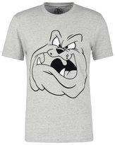 Eleven Paris Bector Print Tshirt Chine Neps Grey