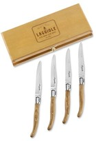 Laguiole Jean Dubost Olive Wood Steak Knives
