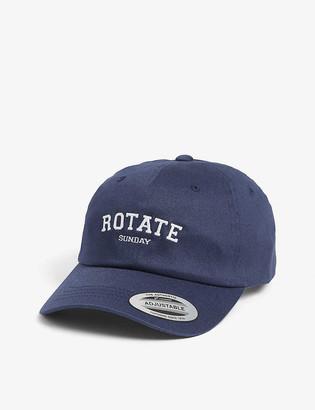 Rotate Sunday Branded organic cotton baseball cap