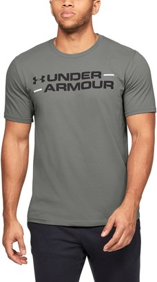 Under Armour Men's UA Branded Wordmark Graphic Short Sleeve