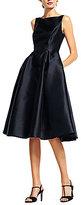 Adrianna Papell Sleeveless Midi Taffeta Dress
