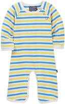 Toobydoo Emery Striped Footie (Baby Boys)