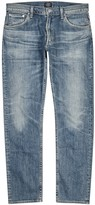 Citizens Of Humanity Bowery Blue Straight-leg Jeans