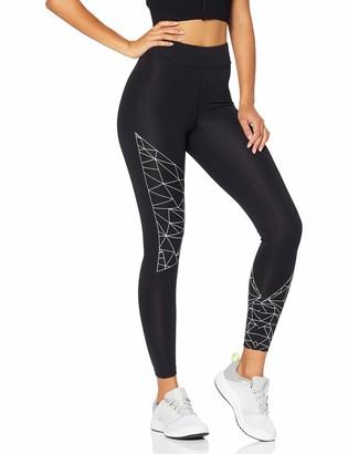 Aurique Women's Sports Leggings Black X-Small