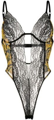 Versace Barocco lace body