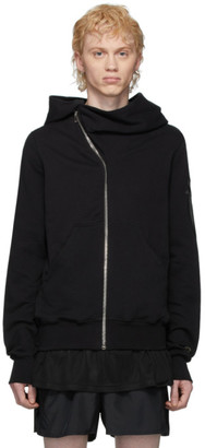 Rick Owens Black Champion Edition Mountain Hoodie
