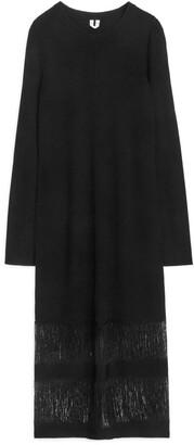 Arket Knitted Fringe Dress