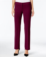 Nine West Taylor Stretch Straight-Leg Trousers