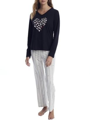 ED Ellen Degeneres Say What? Knit Pajama Set