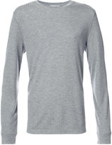 Vince crew neck T-shirt - men - Polyester/Viscose - S