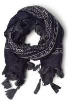 Esprit Cotton embroidery scarf 102x102