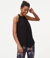 LOFT Gathered Halter Top