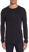 Vince Men's Ribbed Henley