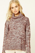 Forever 21 FOREVER 21+ Marled Turtleneck Sweater